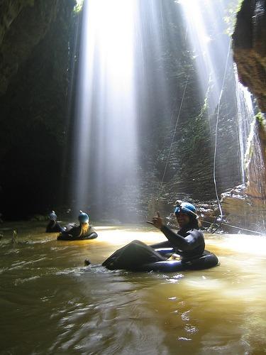 black-water-rafting