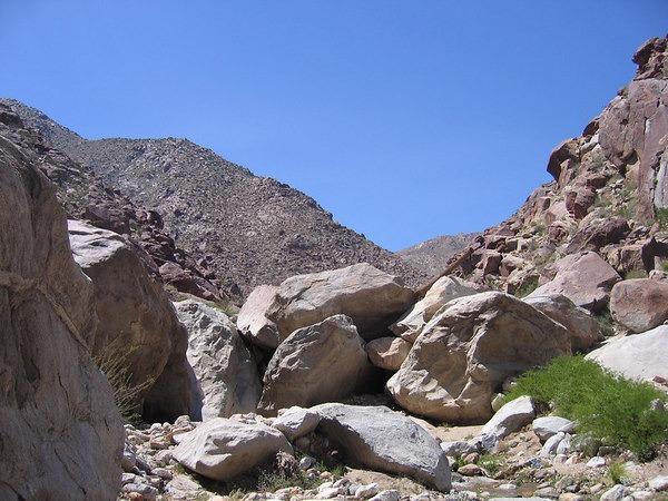 boulder-hopping