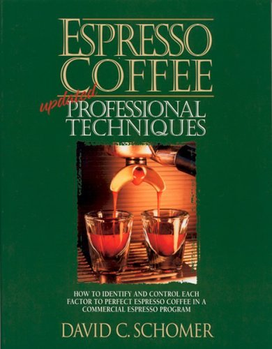 Espresso Coffee: Professional Techniques