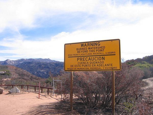 burned-area-sign