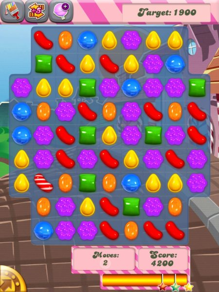 Candy Crush headache