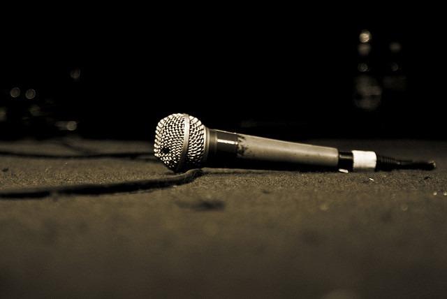 drops mic
