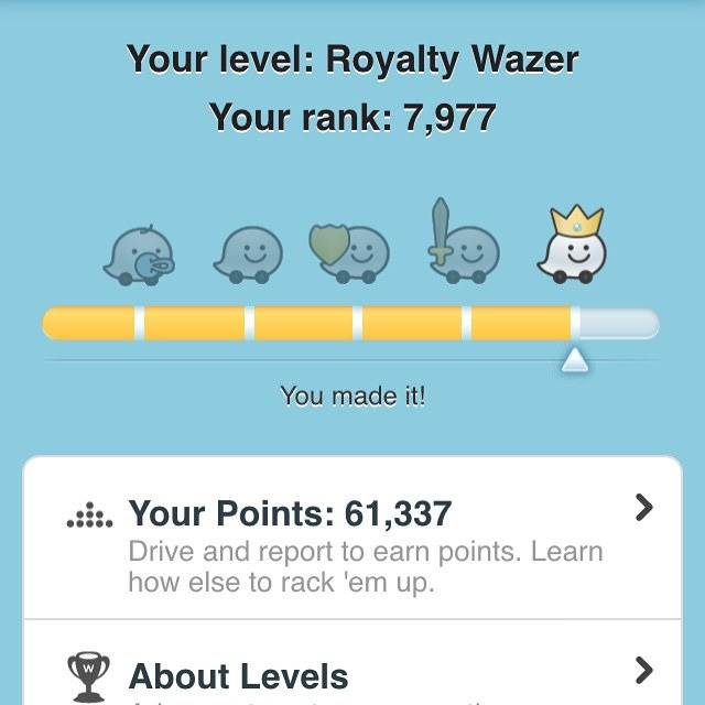 waze royalty