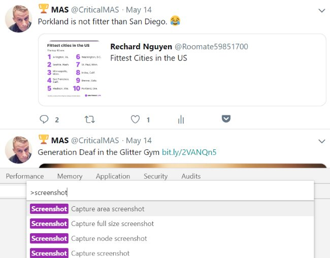 How to Save a Tweet as an Image With Google Chrome - Critical MAS