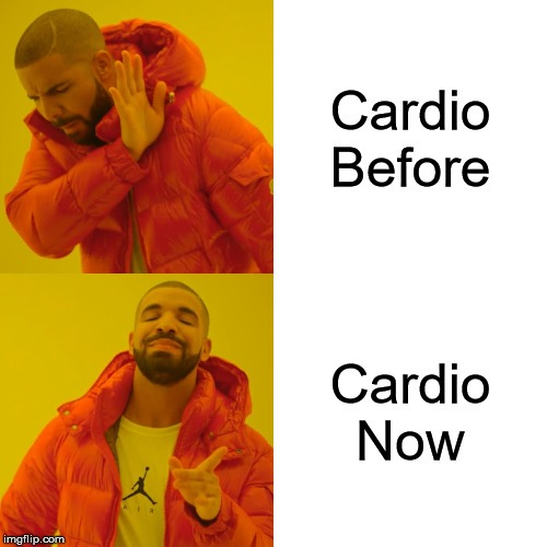 cardio then and now