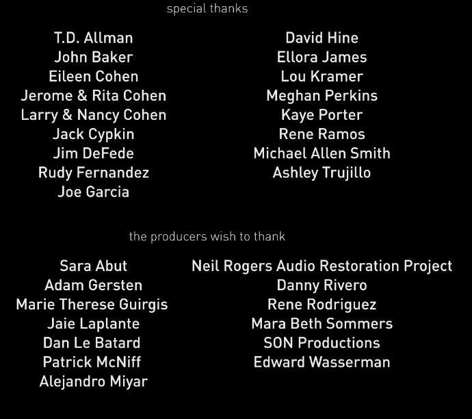 537 Movie Credit